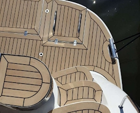 Pearl 42 in sunbleached decking